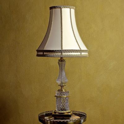 Лампа настольная, хрусталь