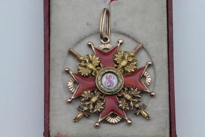 Орден Святого Станислава третьей степени с мечами