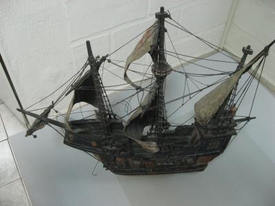 Макет корабля