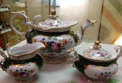 Винтажный чайник, молочник, сахарница 1960-1980 гг.
