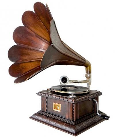Антикварный граммофон ок.1920 г.