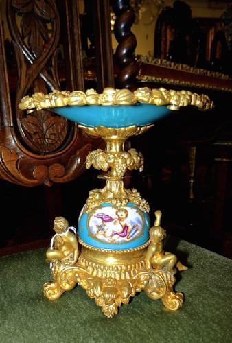 Ваза, Севрский фарфор, 19 век