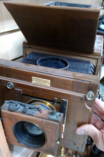 Старинная фотокамера (фотоаппарат). обр. 1893 г Dr. Adolf Hesekiel & Co
