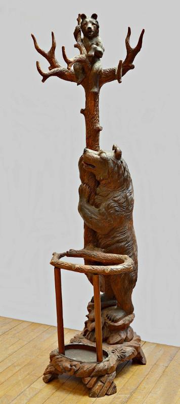 Вешалка+зонтница Медведи