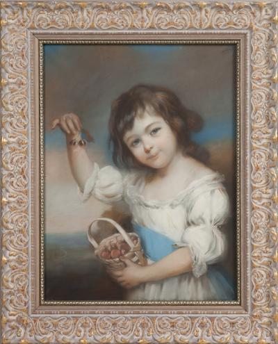 Девочка с вишнями