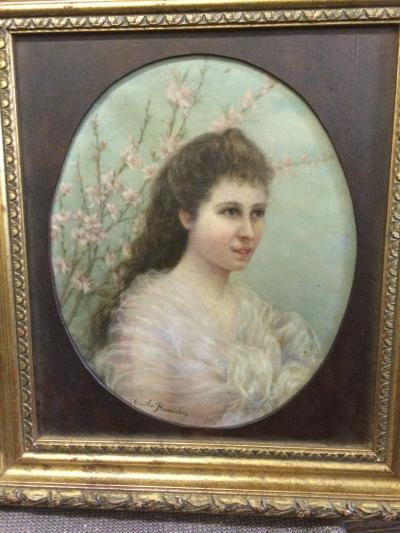Портрет девушки. XIX век.