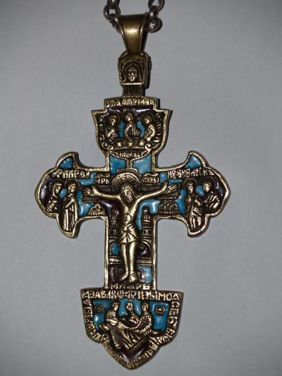 Крест наградной. Гуслицкое литье