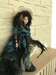 Кукла Скарлет. Франция, 1950-е гг.