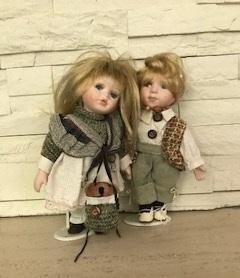 Пара кукол 1950 г.