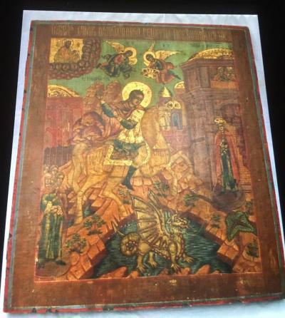 Чудо Великомученика Георгия о змие