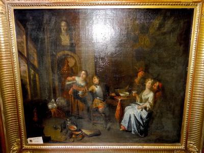 Жанровая сцена 17 век