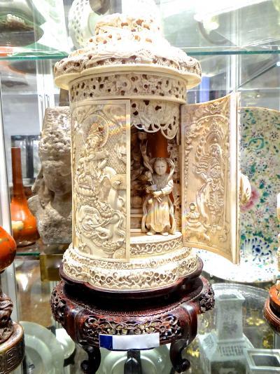 Ларец из кости 19 век