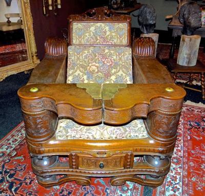 Раскладное кресло 19-й век.