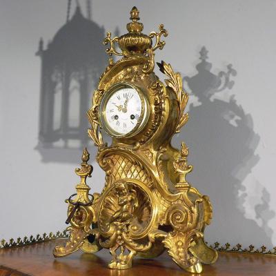 Каминные часы J.Piquemal
