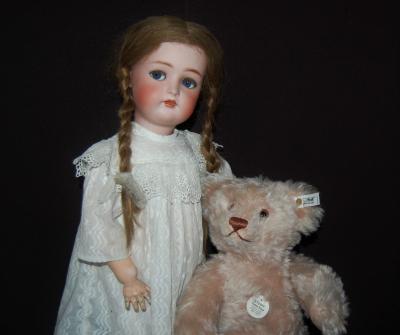 Старинная куколка Kammer&Reinhardt