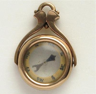 Шатлен к карманным часам Компас