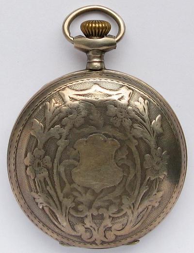 Серебряные карманные часы JACQUES
