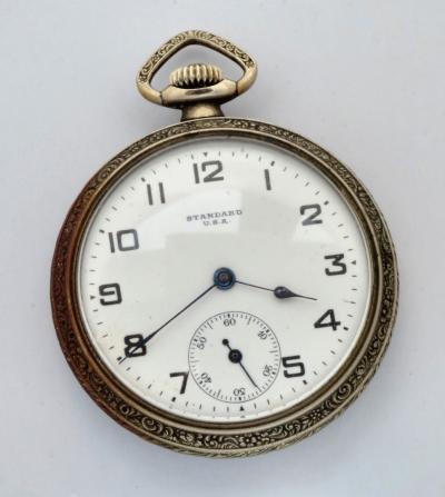 Карманные часы NEW YORK STANDART WATCH CO
