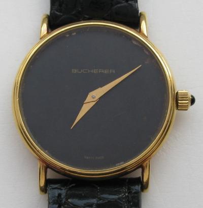 Золотые наручные часы BUCHERER