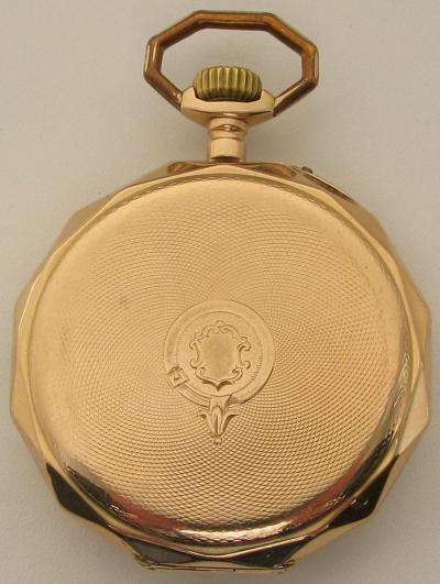 Золотые карманные часы SURETE FABRIQUE MOVADO