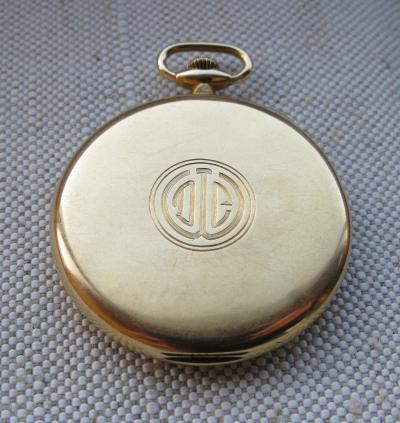 Золотые карманные часы EDWARD KOEHN для TIFFANY