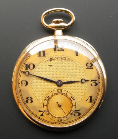 Золотые карманные часы VACHERON & CONSTANTIN 1917-1919