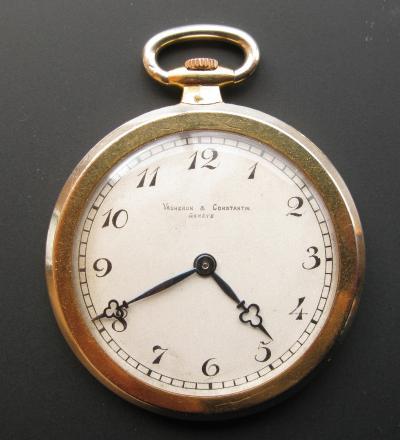 Золотые карманные часы VACHERON & CONSTANTIN для VERGER & FILS