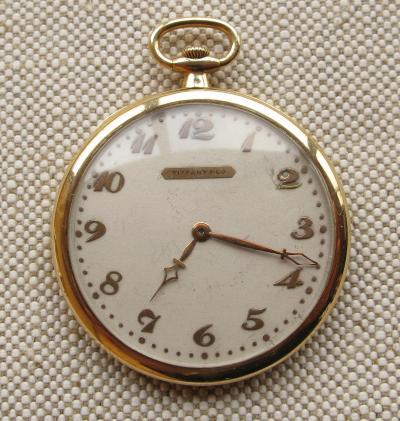 Золотые карманные часы TOUCHON & COMPANY