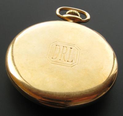 Золотые карманные часы EDWARD KOEHN