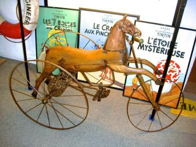 Трехколесный конь