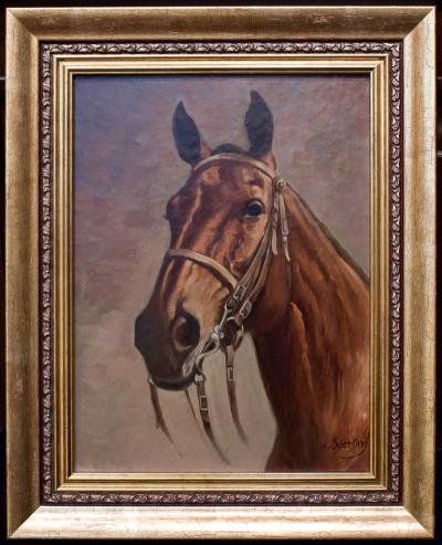 «Портрет лошади» Генрих Сперлинг.