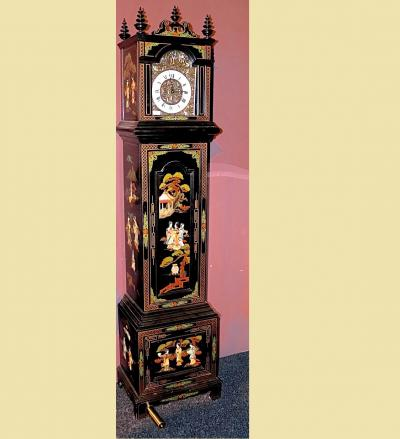 Напольные часы в японском стиле