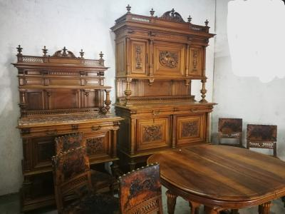 Столовый гарнитур, начало XX века