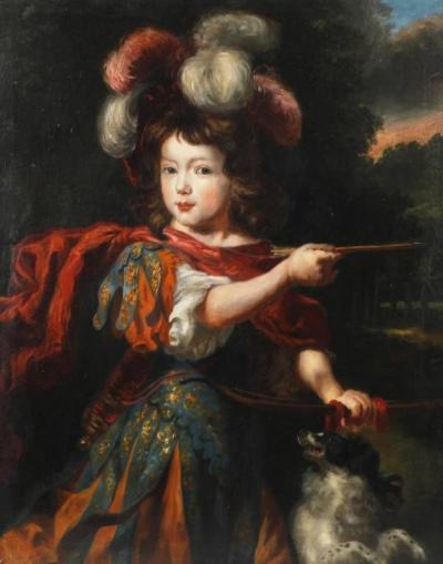 Портрет мальчика в виде Адониса