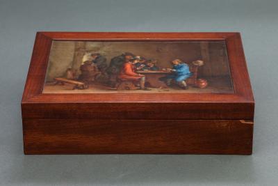 Шкатулка Картежники, XIX век