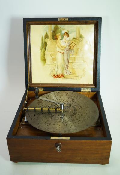 Большая музыкальная шкатулка Каллиопа