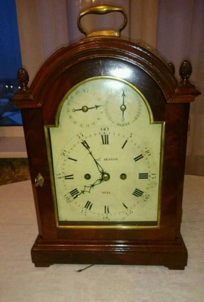 Настольные часы Джозеф Дентон, конец 18 века