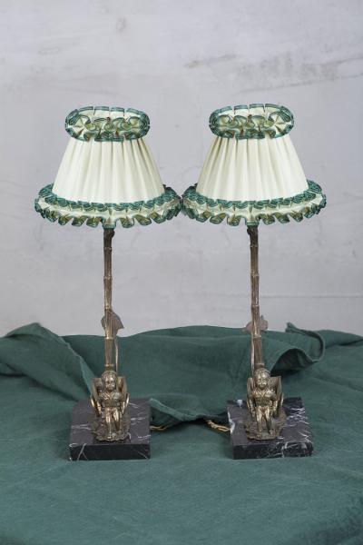 Испанские парные лампы