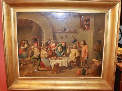 Копия картины Король пьёт