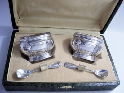 Серебряный набор для соли и специй
