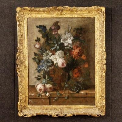 Фламандский натюрморт 18 века