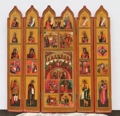 Православный иконостас 19 век