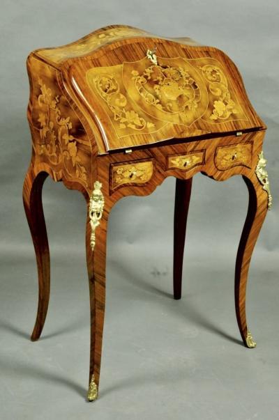 Секретер в стиле Луи XV