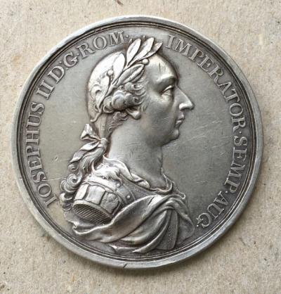 Медаль редкая На смерть Иосифа II, 1790