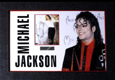 Автограф Майкла Джексона