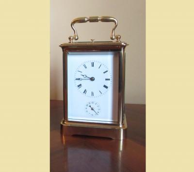 Каретные часы конца XIX века