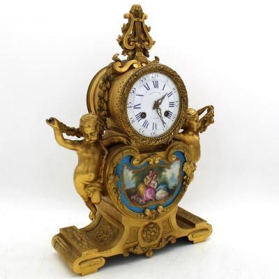 Часы времен Луи-Филиппа