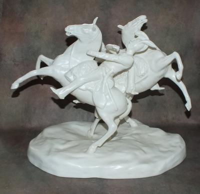 Кирасиры на конях
