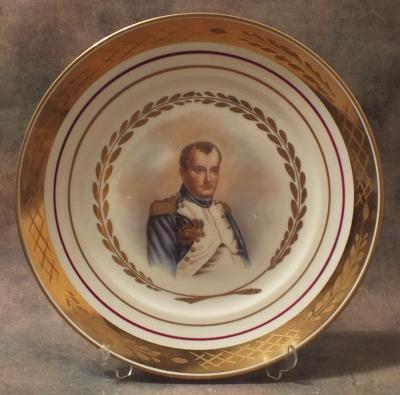 Парные тарелочки Наполеон и Жозефина