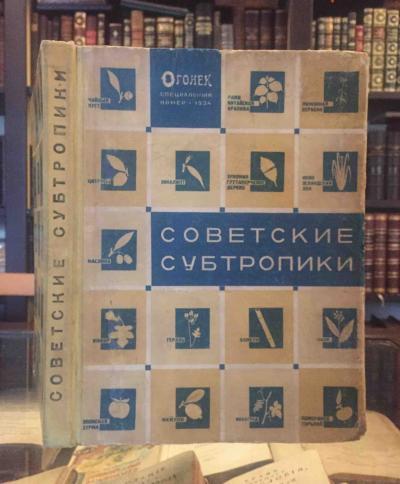 Советские субтропики. Специальный выпуск Огонька